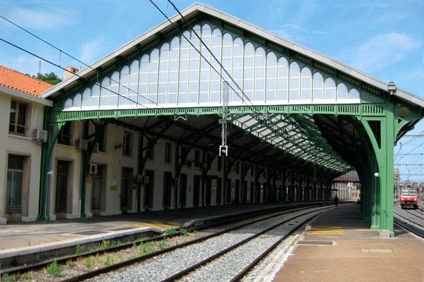 Bahnhof Cerbere, Frankreich 2010