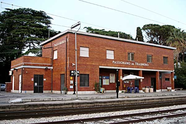 Bahnhof Passignano_Italien 2010