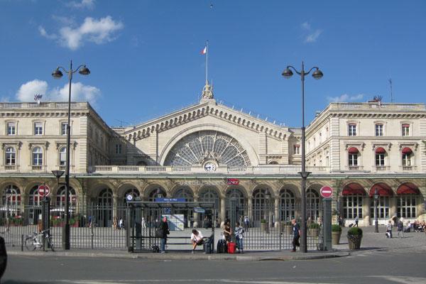 Paris Gare de l´est, 2010