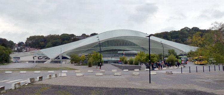 Hbf Liège-Guillemins, 2018