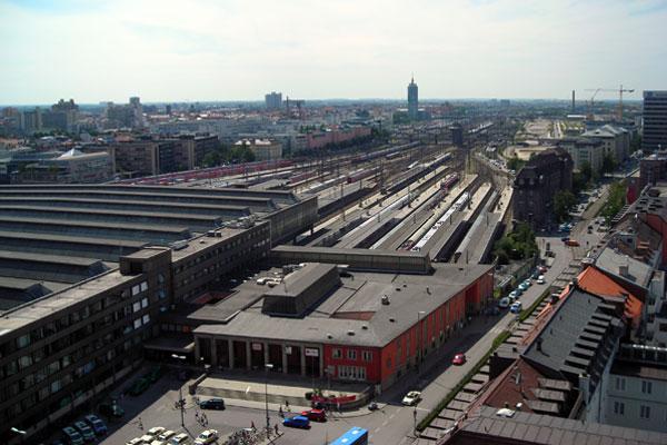München Hbf, 2008