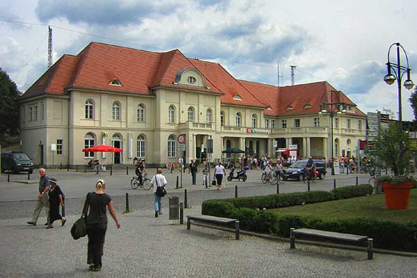 Bhf Oranienburg, 2009