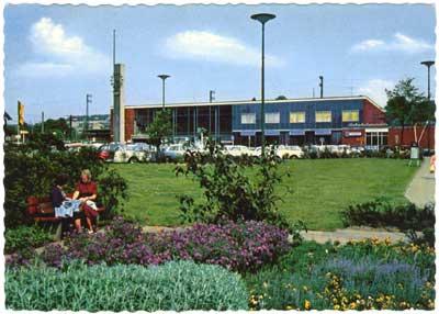 Hbf Recklinghausen, 1964