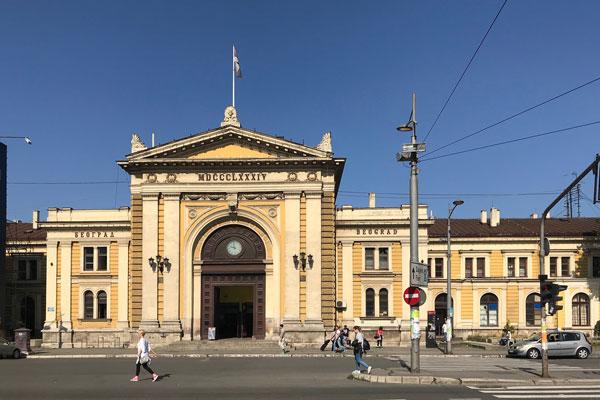 Hbf Belgrad, 2018