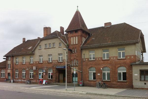 Bhf Eisenhüttenstadt, 2017