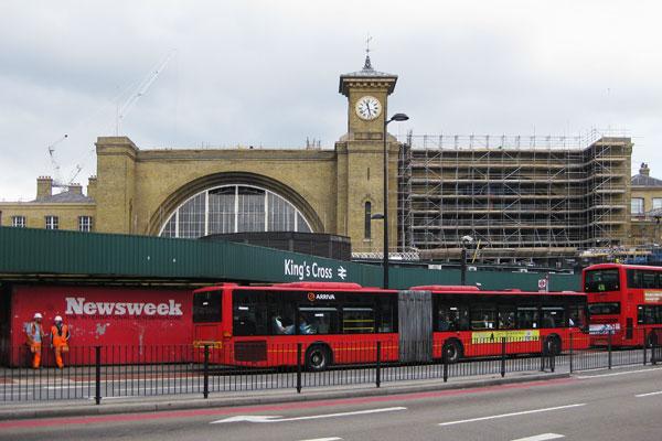 London Kings Cross, 2011