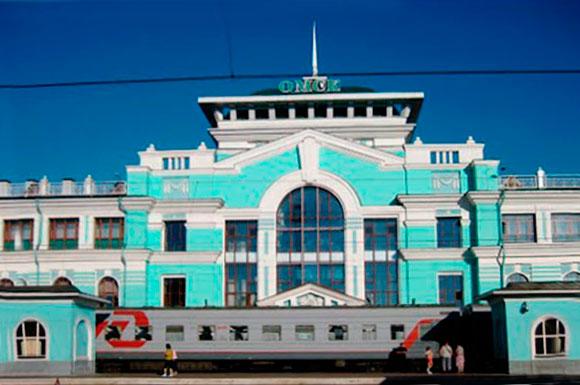 Hbf Omsk, Rusland, 2010