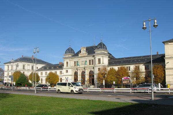 Altenburg Bhf, 2015