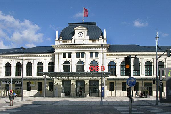 St. Pölten Hbf Österreich, 2011